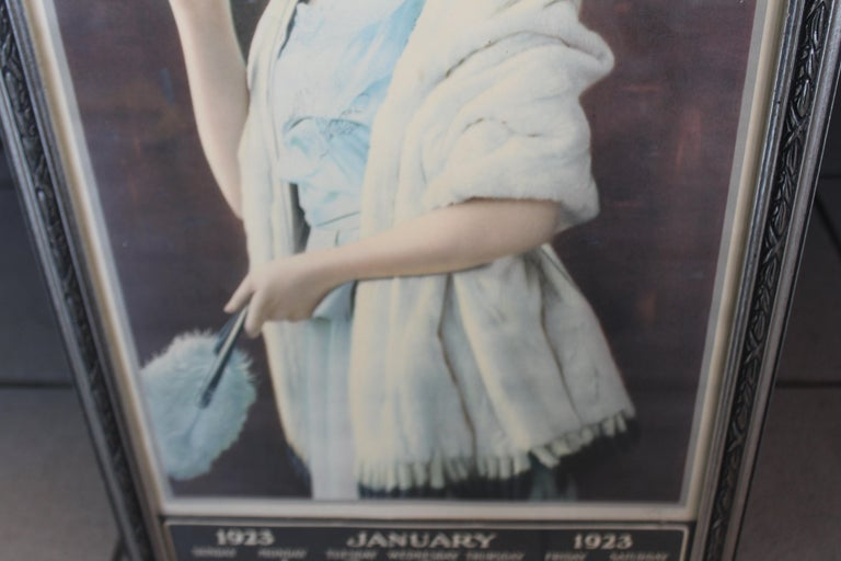 1923 January Coca-Cola Calendar Paper Advertising For Sale 4