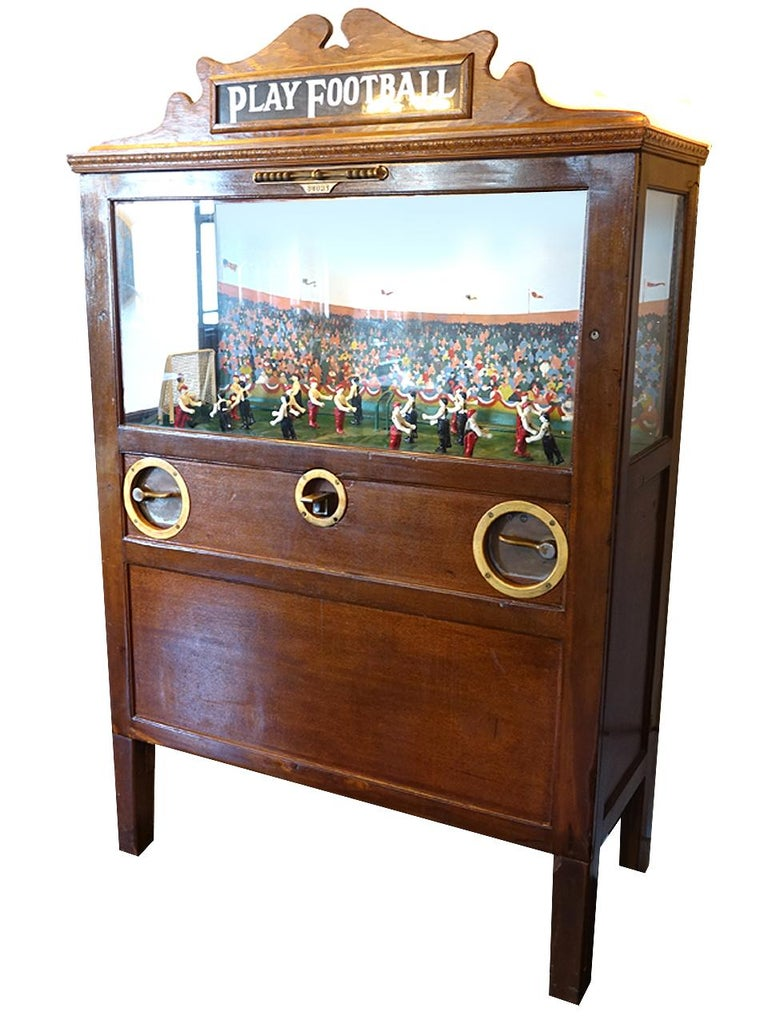 American 1926 Chester-Pollard Soccer Penny Arcade Game For Sale