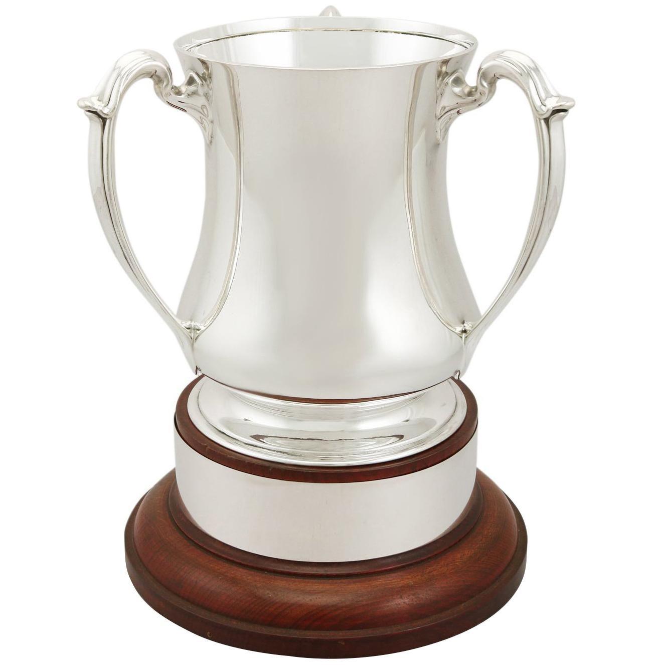 1929 Antique George V Sterling Silver Tyg Presentation Cup