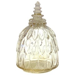 1929 René Lalique Narcisse Perfume Bottle for Forvil Clear Glass
