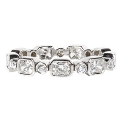 1.93 Carat Total Weight Diamond Eternity Band Ring