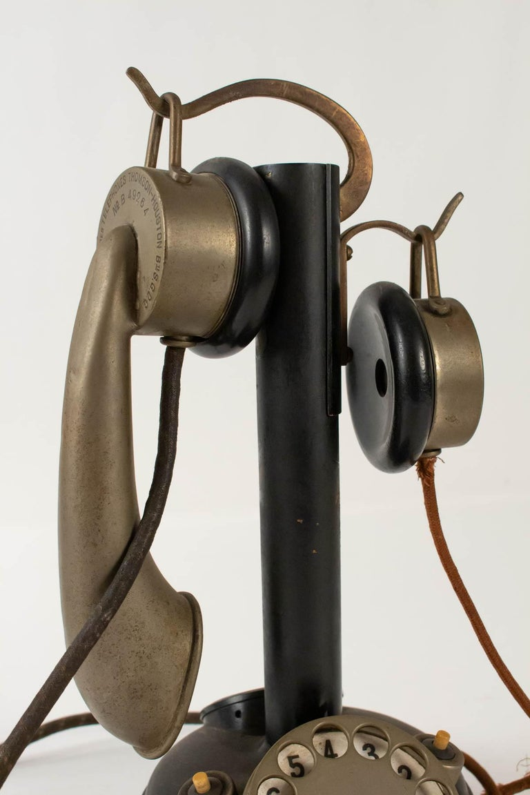 Art Deco 1930-1940 Telephone, Thomson-Houston Telephone Company For Sale