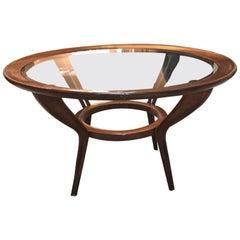 1930-1935 Italian Walnut Coffee Table