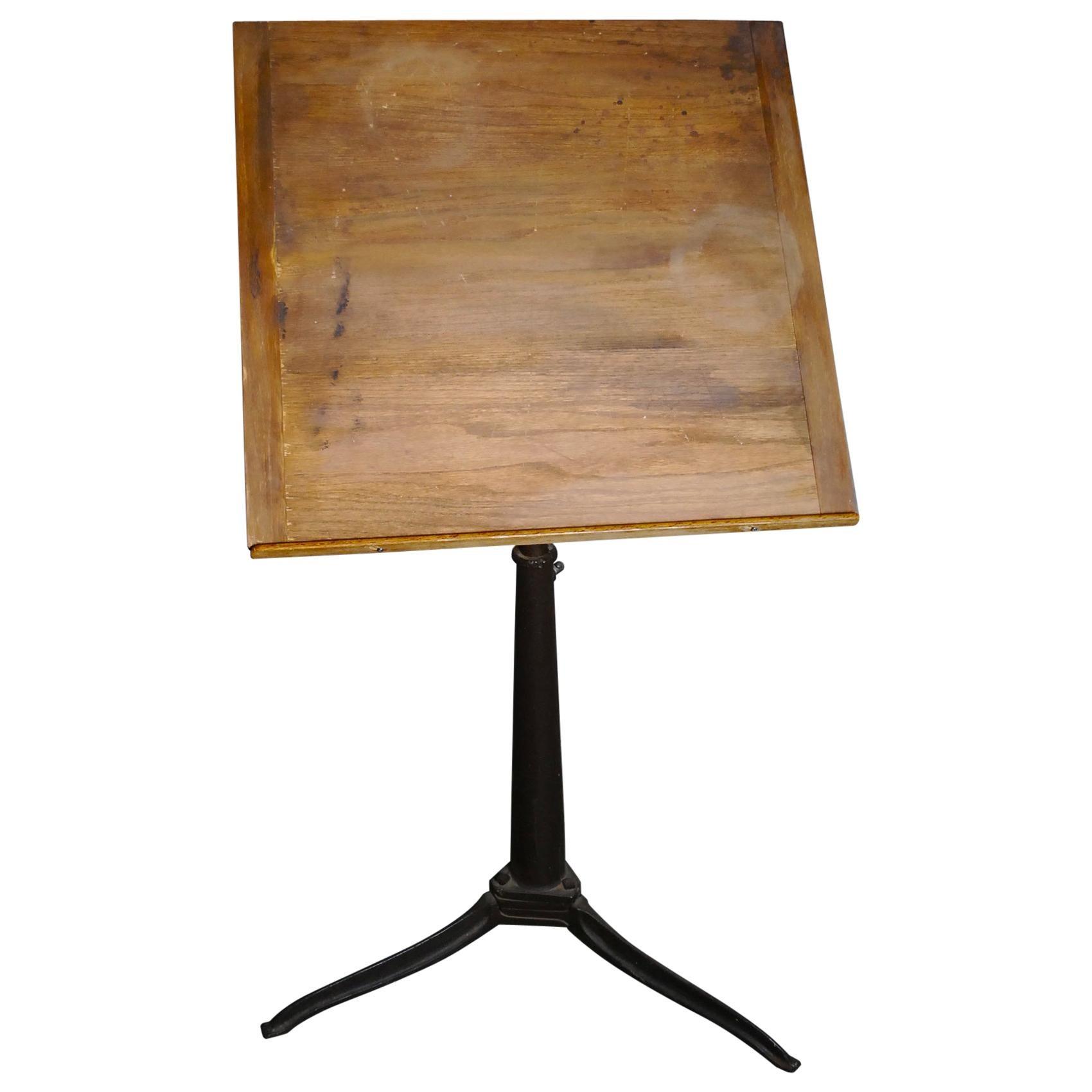 1930 Adjustable Drafting Table