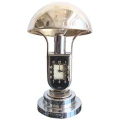 1930 Art Deco Mofem Lamp and Clock