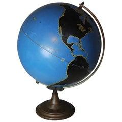 1930 Denoyer Geppert Military World Globe