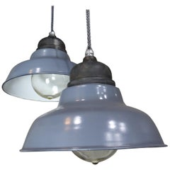 1930 Industrial Crouse Hinds Pendant Lights