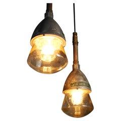 1930 Pyle National Industrial Pendant Lights