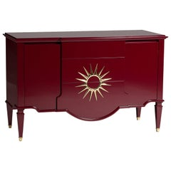 1930 Red Sideboard