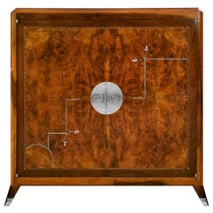 1930´s Art Deco Cabinet in the Style of Santiago Marco, Spain, Barcelona