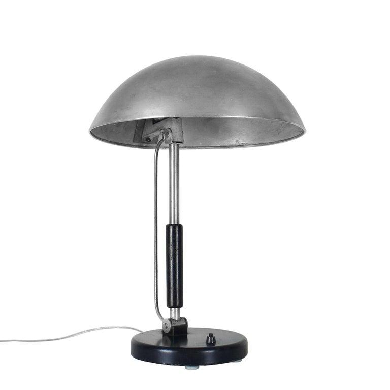 Mid-20th Century 1930s Bauhaus Style Desk Lamp by Karl Trabert for Schanzenbach, Germany