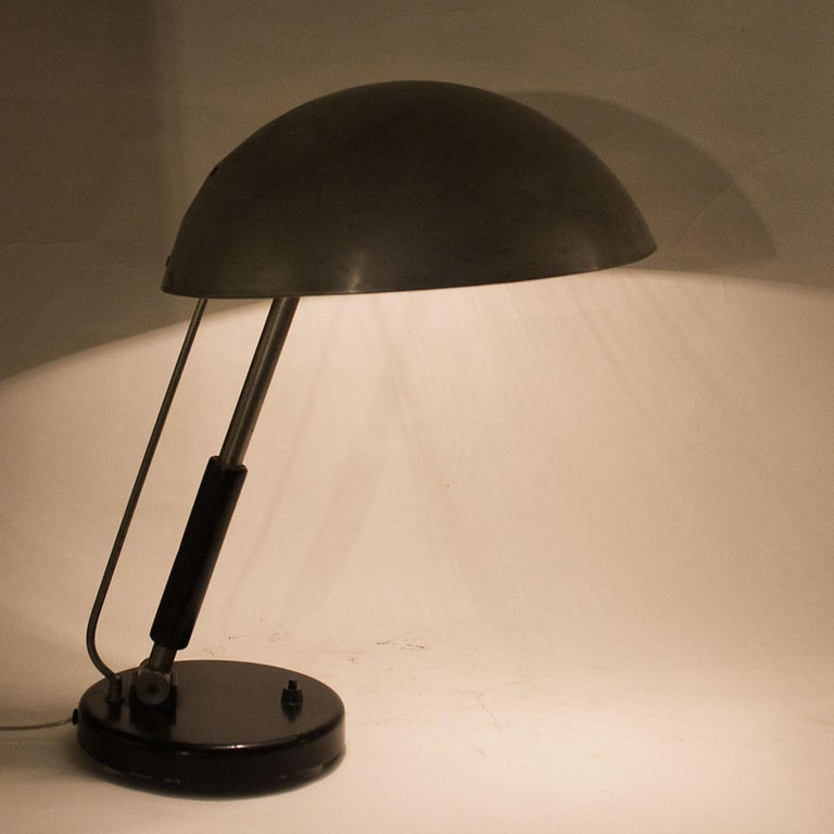 1930s Bauhaus Style Desk Lamp by Karl Trabert for Schanzenbach, Germany 4