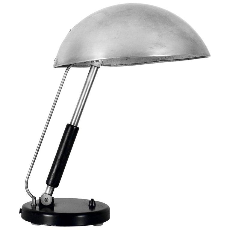 1930s Bauhaus Style Desk Lamp by Karl Trabert for Schanzenbach, Germany