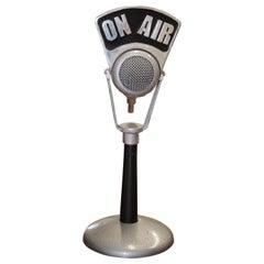 1930s-1940s Brush Development Co. Desk Microphone Model 77