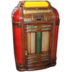 1930s-1940s Original Regal Seeburg Symphonola Art Deco Jukebox