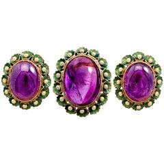 1930s Lever-Back Earrings