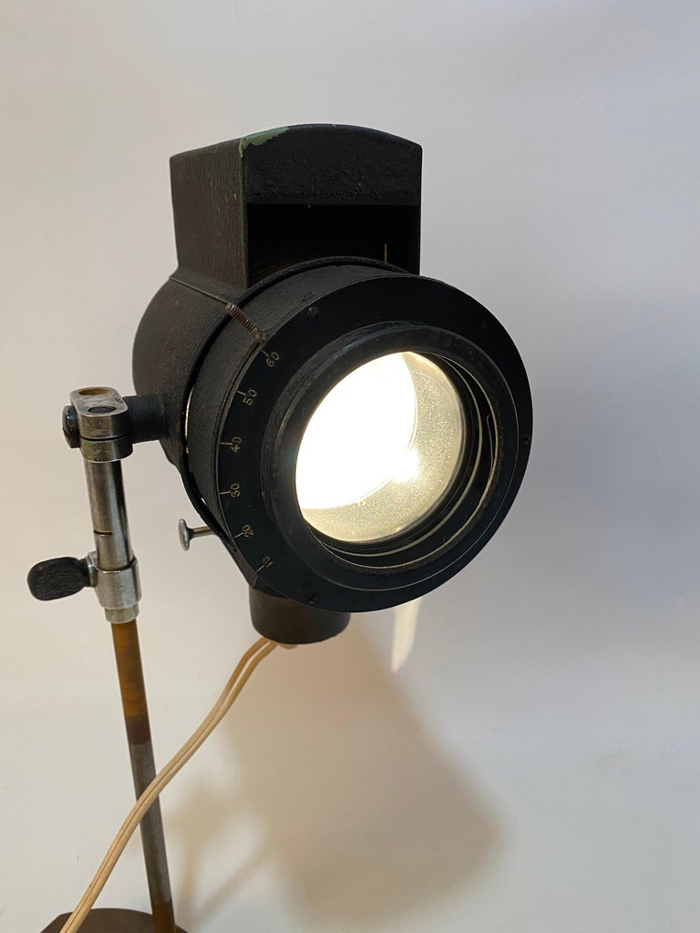 1930s Adjustable Spot Light Task Lamp For Sale 3