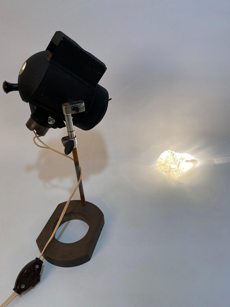1930s Adjustable Spot Light Task Lamp For Sale 1