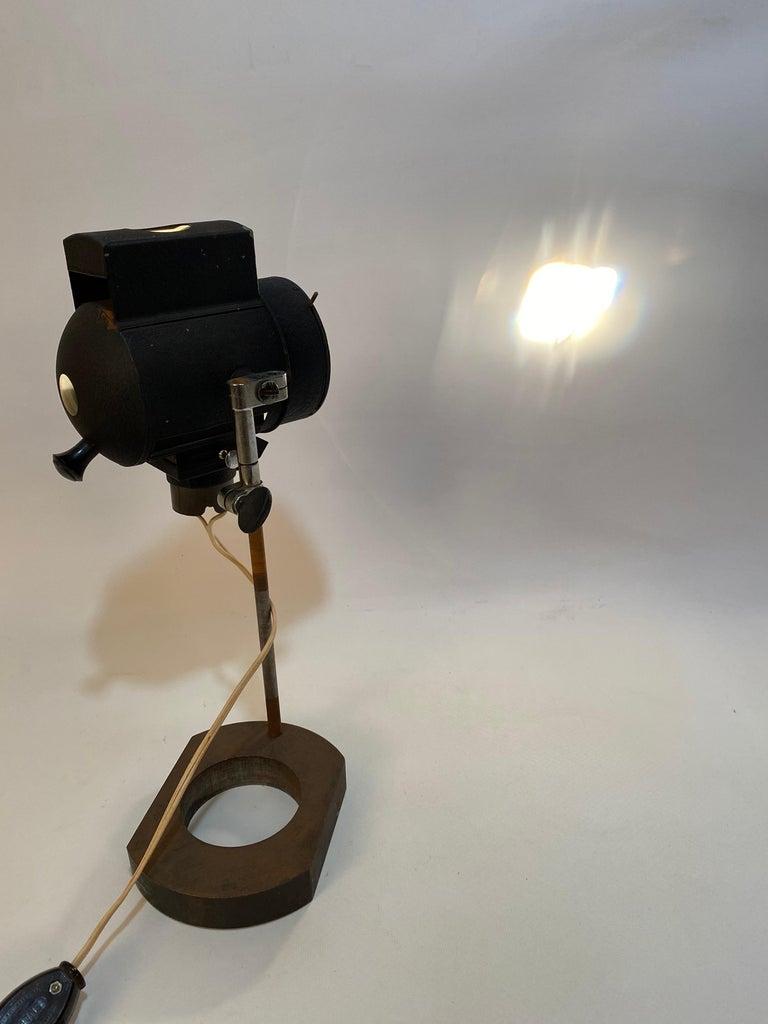 1930s Adjustable Spot Light Task Lamp For Sale 2