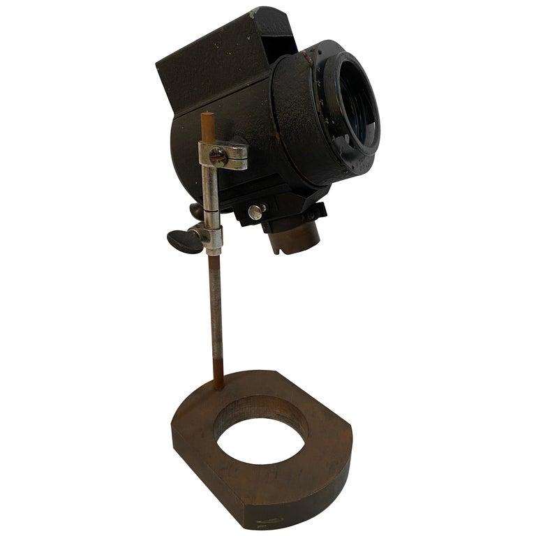 1930s Adjustable Spot Light Task Lamp For Sale