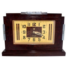 1930s Art Deco Bakelite Clock by JAZ