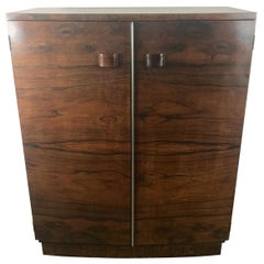 1930s Art Deco Brazilian Rosewood Chest Designed by Gilbert Rohde