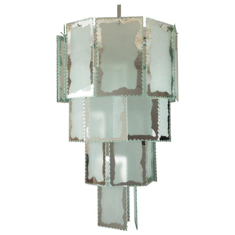 1930s Art Deco Chandelier For Sale
