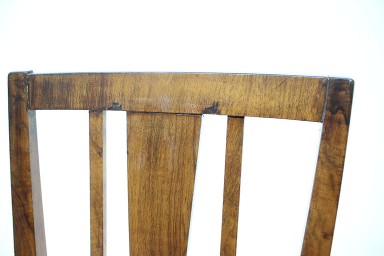 1930s Art Deco Dining Chairs, Czechoslovakia For Sale 1
