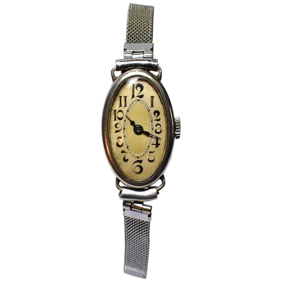 1930s Art Deco Ladies Wrist Watch