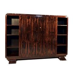 1930s Art Deco Macassar Cabinet