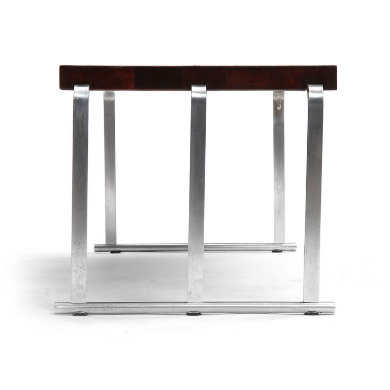 Mid-20th Century 1930s Art Deco Mahogany Low Table by Gilbert Rohde for Herman Miller For Sale