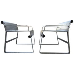 1930s Art Deco Maritime Sealuxe Yacht Chairs