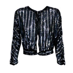 1930's Art Deco Sequin Jacket