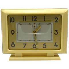 1930s Art Deco Stylish French Bakelite Clock by JAZ