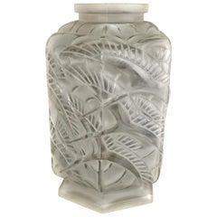 1930s Art Deco Vase by Pierre D'Avesn