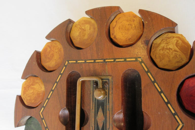 1930s Bakelite Poker Chip Set For Sale 1