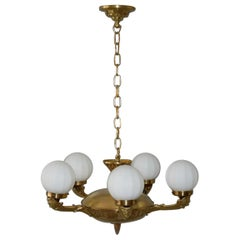 1930s Beautiful Secession Chandelier
