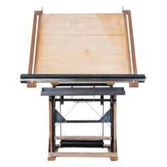 1930s Belgian Drawing Table
