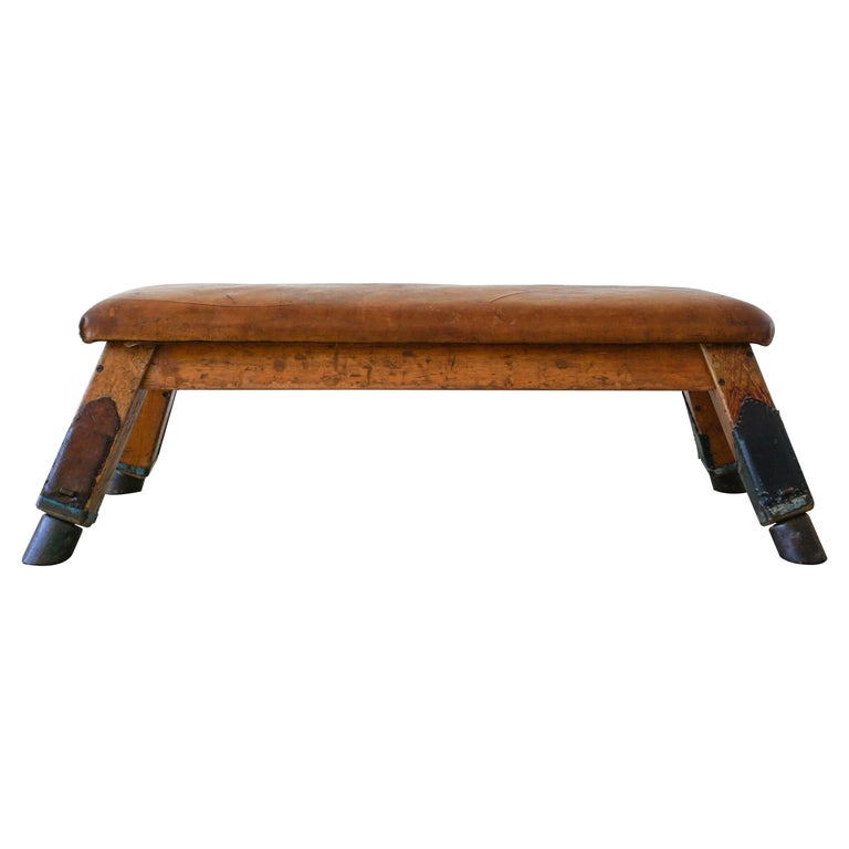1930s Belgian Gym Bench For Sale