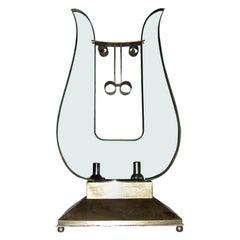 1930s Bull's Head Lamp