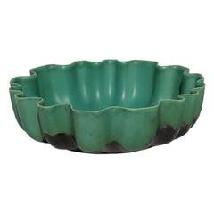 1930s by Gio Ponti Giovanni Gariboldi for San Cristoforo Ginori Pottery Bowl