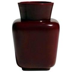 1930s by Giovanni Gariboldi for San Cristoforo Ginori Pottery Art Deco Vase