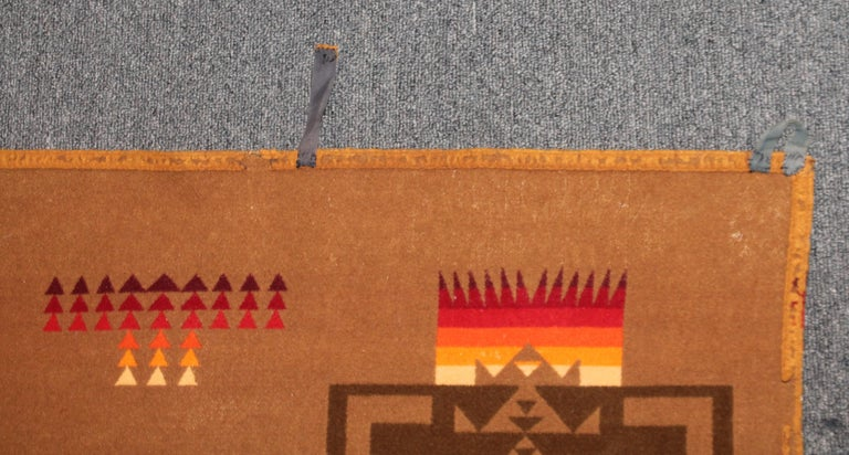 20th Century 1930s Cayuse Double Sided Pendleton For Sale
