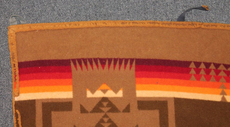 Wool 1930s Cayuse Double Sided Pendleton For Sale