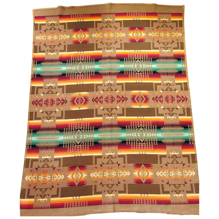1930s Cayuse Double Sided Pendleton For Sale