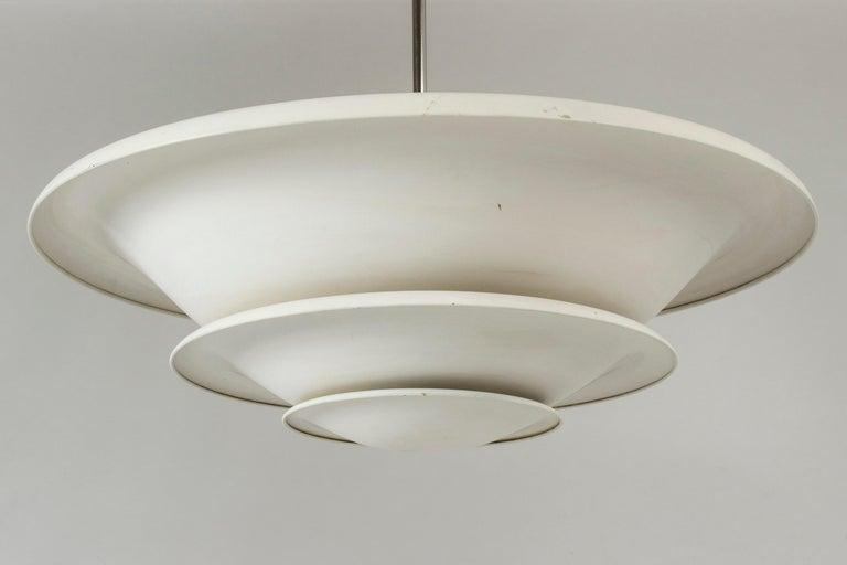 Swedish 1930s Ceiling Light from Bröderna Malmström For Sale