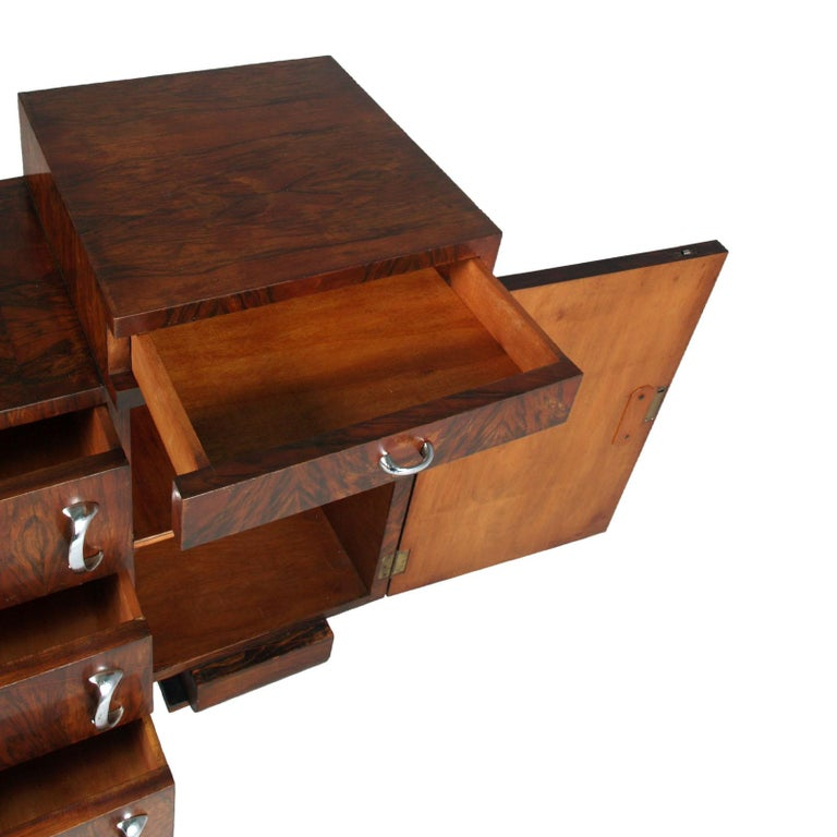 1930s Chest of Drawers, Commode, Credenza Art Deco by Guglielmo Urlich for Ar.Ca For Sale 4
