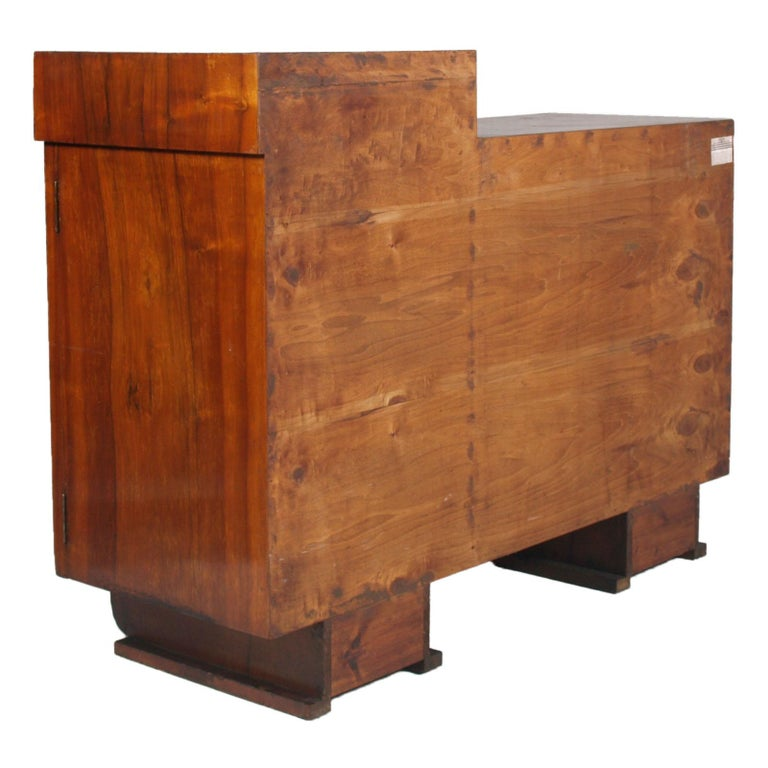 1930s Chest of Drawers, Commode, Credenza Art Deco by Guglielmo Urlich for Ar.Ca For Sale 6