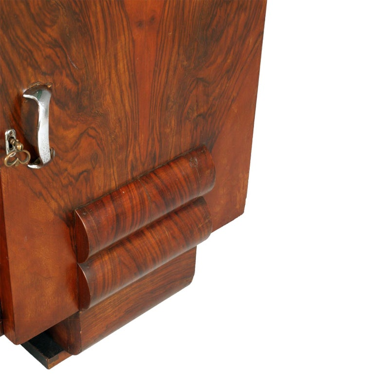 1930s Chest of Drawers, Commode, Credenza Art Deco by Guglielmo Urlich for Ar.Ca For Sale 1