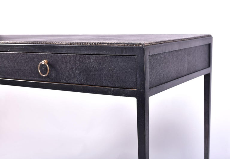 Brass 1930s Desk by Jean-Michel Frank For Sale